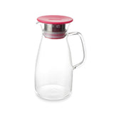 Mist Glass Ice Tea Pitcher for Cold-Brew