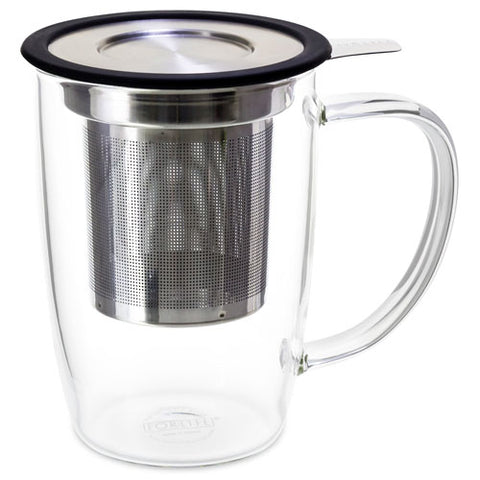 Glass Mug w/Infuser