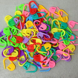 Plastic Locking Stitch Markers