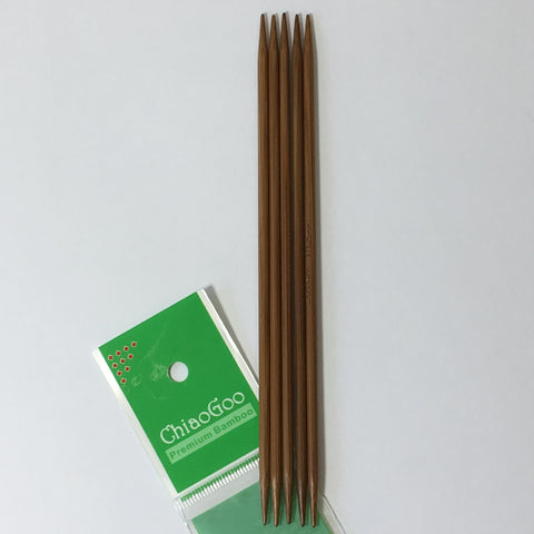 "ChiaoGoo 6"" Double Pointed Needles"