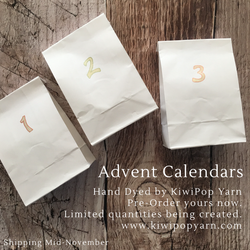 Yarn Advent Calendar - Pre-Order