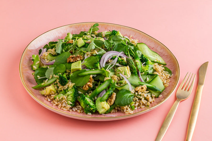 Super Green Rice Salad Recipe