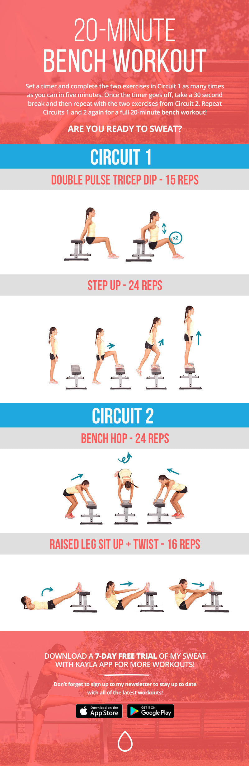Free Bench Workout