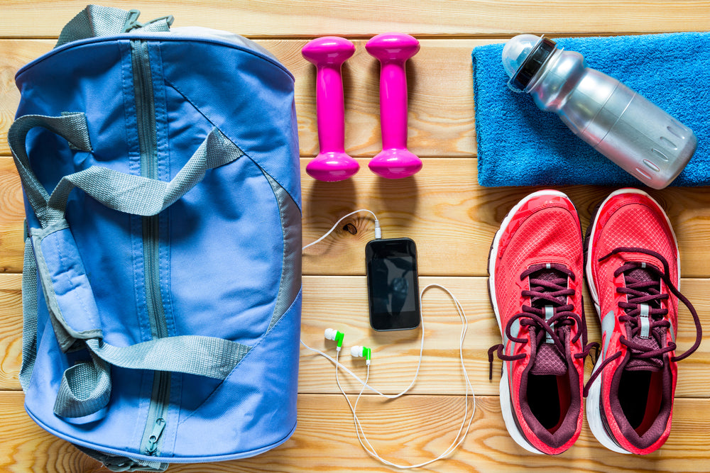 the best beauty products for your gym bag