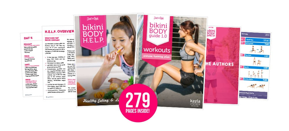 Guides kayla itsines save up to 15 with my bikini body ebook bundle fandeluxe Images