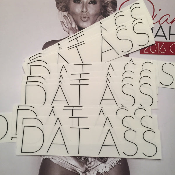 DATASS sticker
