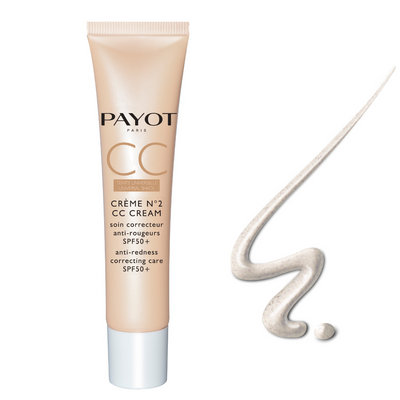 PAYOT - CRÈME N°2 - CC Cream -  Anti-Redness Correcting Care SPF50+ - 40ml