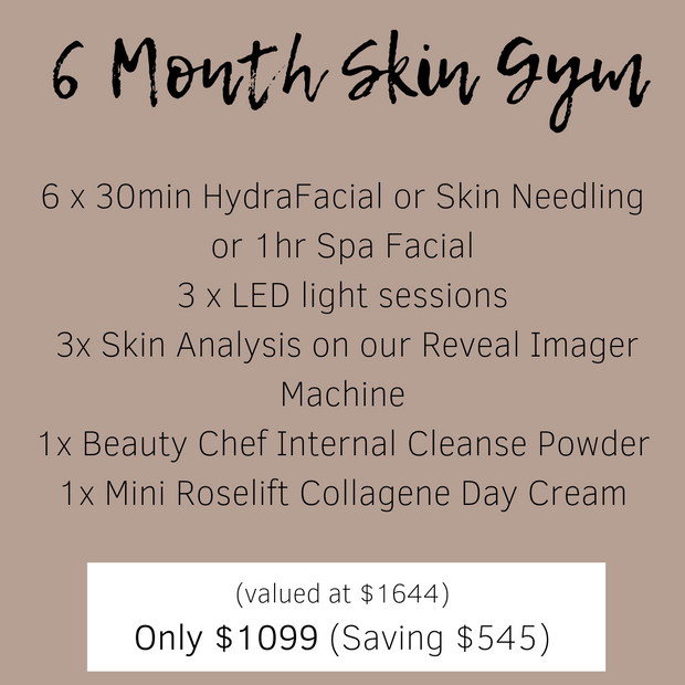 6-Month Skin Gym Package