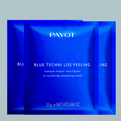 PAYOT - BLUE TECHNI LISS - Chrono-Renewing Peel Mask x 10