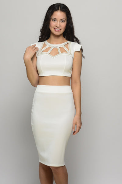 Signature Bliss White 2 Piece Set
