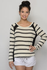 White Black Striped Top - Dear Havana