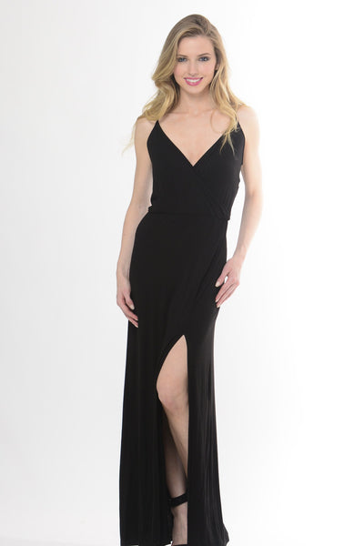 The Encore Black Maxi Dress