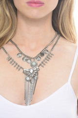 Hailey Jane Silver Necklace - Dear Havana