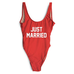 Just Married Swimsuit - Dear Havana