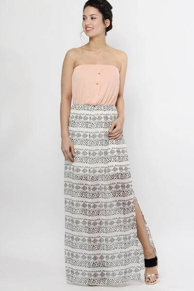 Tahiti Sweetie Maxi Dress