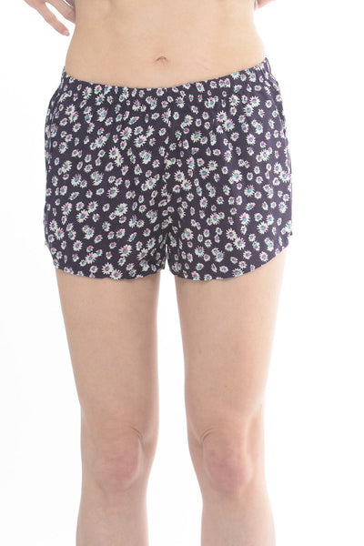 Lolli Floral Purple Shorts