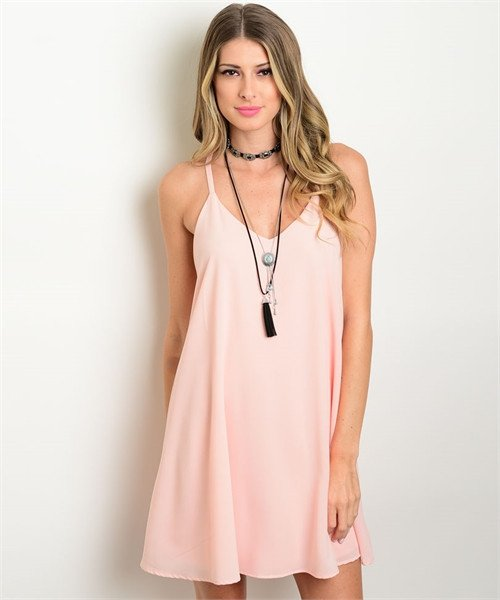 Peachy Babe Dress