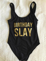 Birthday Slay Swimsuit