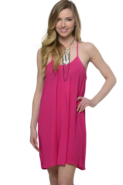Posh Dreams Pink Dress