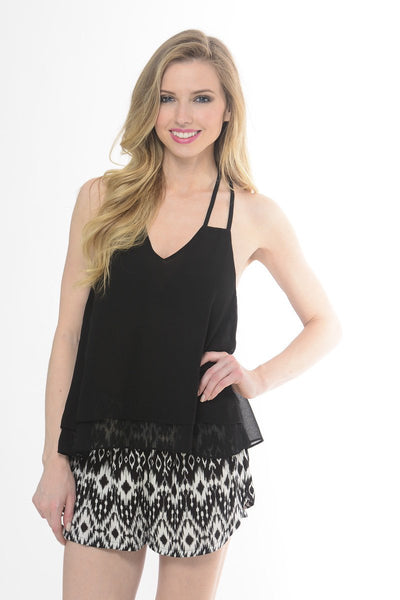 Kingsley Black Top