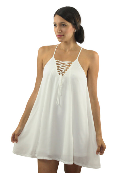 Purezza White Dress