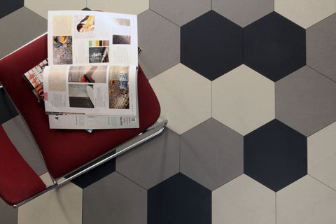 Hexagon Tiles for Melbourne