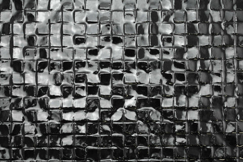 Uneven Mosaic Black Gloss 300x300
