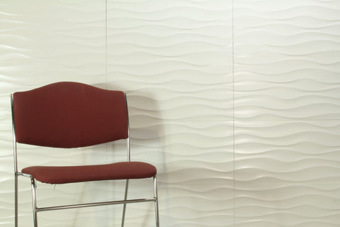 Urban Wave White Matt 300x600