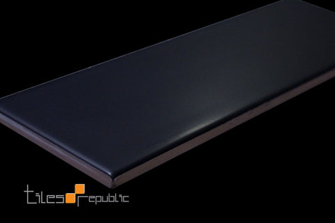 Black Matt 100x300 Subway Wall