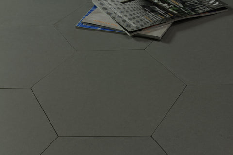 Eco Stone Hexagon Steel Matt 259x299
