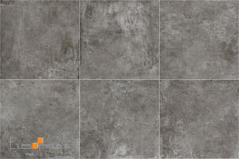 Iris Iron Concrete Look Tile Matt 600x600