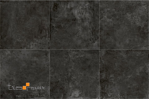 Iris Carbon Concrete Look Tile Matt 600x600