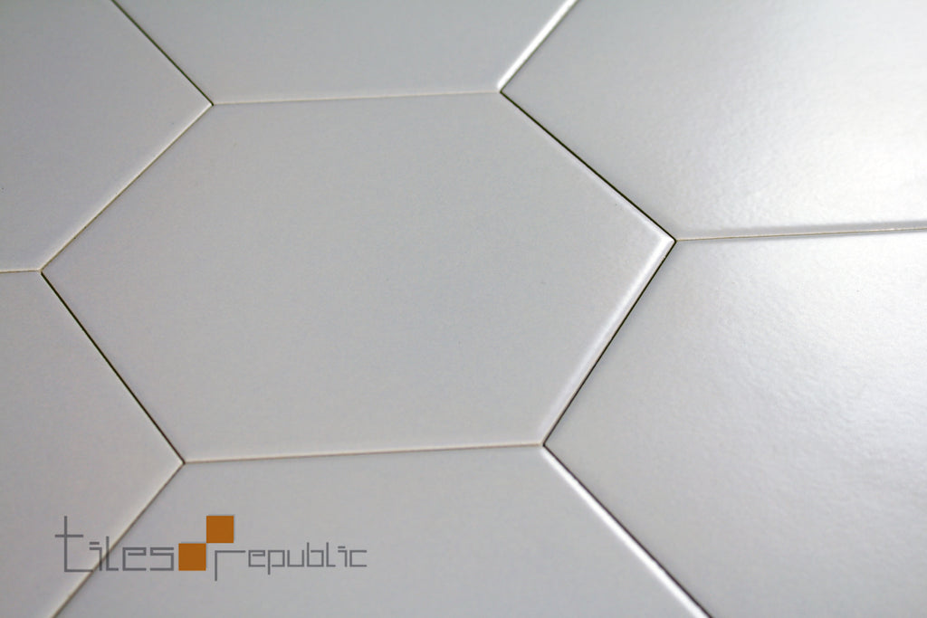 Eco Stone Hexagon Ash Matt 200x230