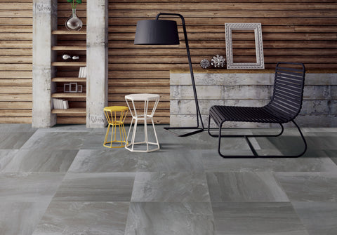 Geostone Grey Matt 300x600
