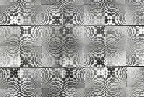Metallic Diamond Silver 150x600