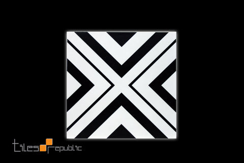 Infinite Cross White Matt 200x200