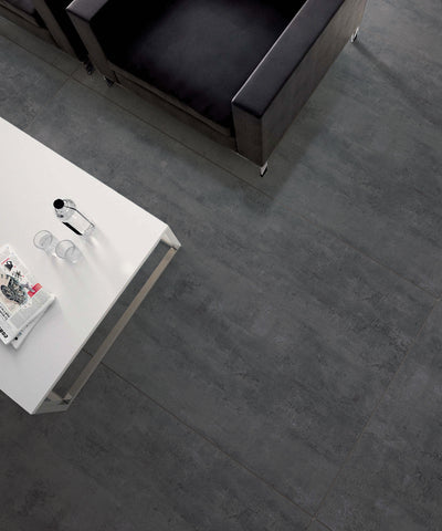 Iris Slate Concrete Look Tile Matt 600x1200