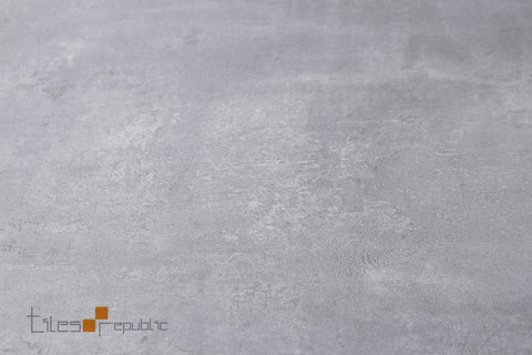 Iris Silver Grey Concrete Look Tile Matt 600x1200