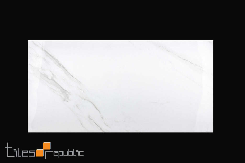 Carrara Marble White Polished 300x600