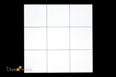 White Matt 100x100 Wall