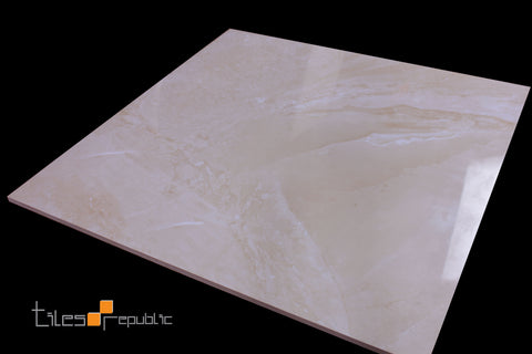 Mainstone Beige Polished 600x600