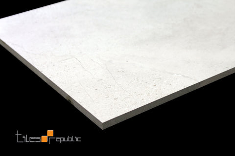 Maxx Bianco Concrete Look Tile Matt 300x600