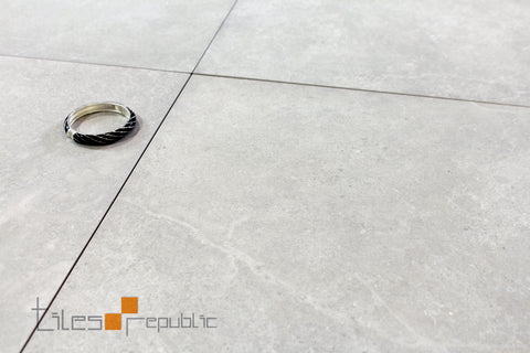 Mayfair Chalk Concrete Look Tile Matt 600x600