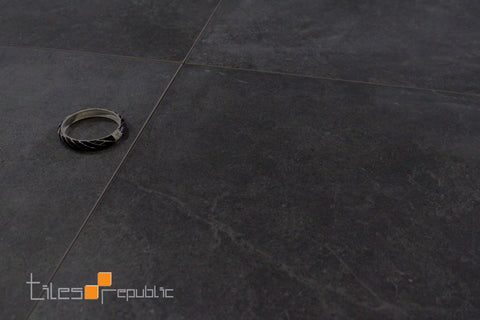 Mayfair Slate Concrete Look Tile Matt 600x600