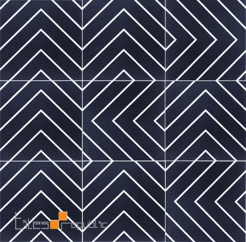 Infinite Maze Black Matt 200x200