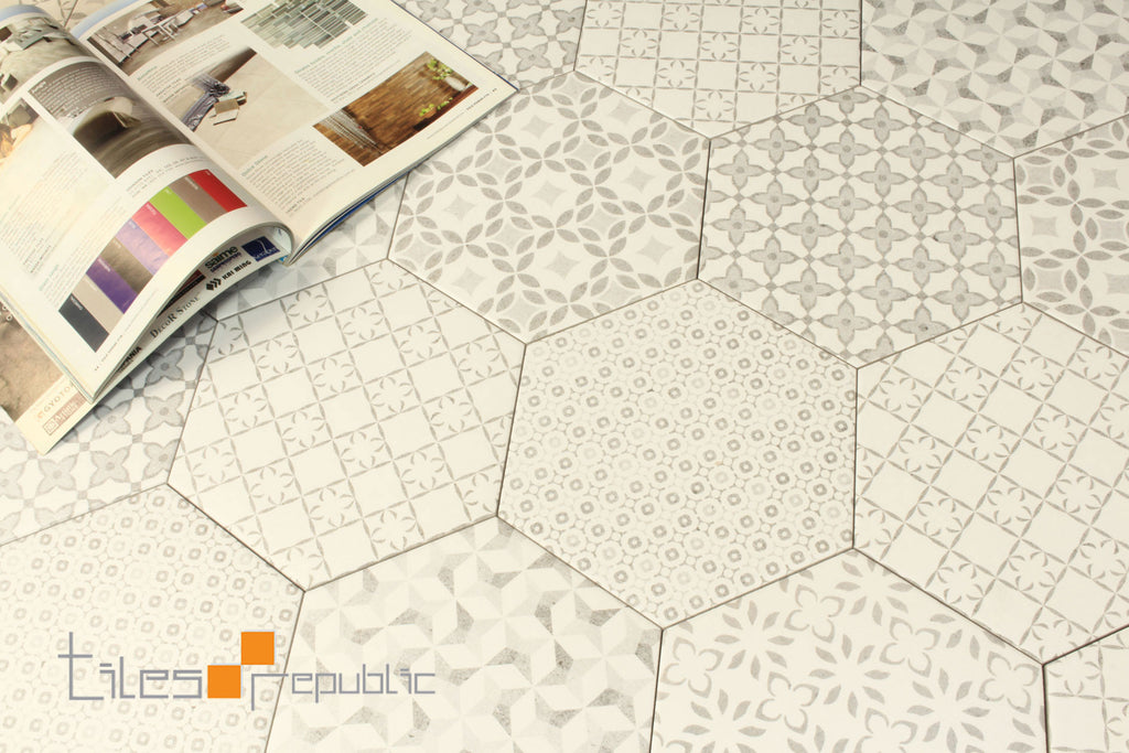Encaustic Hexagon Retro Matt 200x230