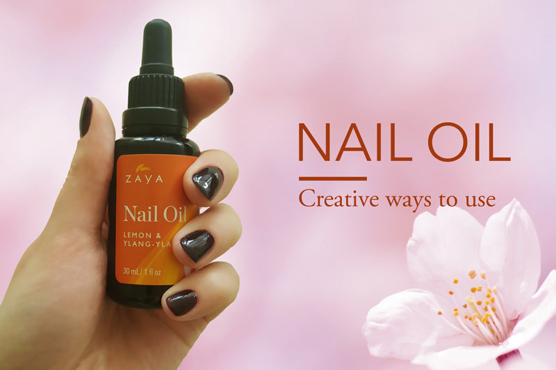 ZAYA natural organic nail oil how to use