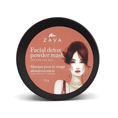 ZAYA eco skincare Natural face detox mask for dry and mature skin