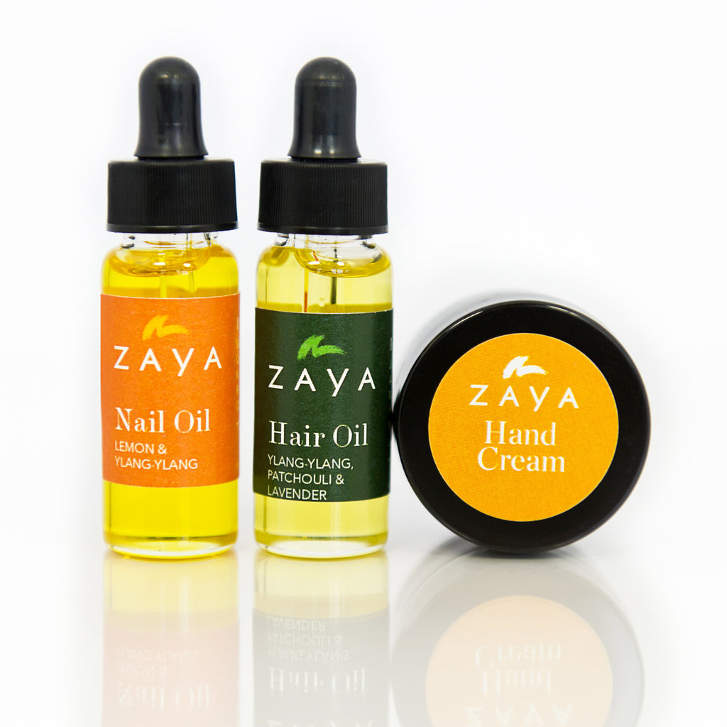 ZAYA Eco Skincare| Natural Hand cream, Nail oil and Hair Oil treatment