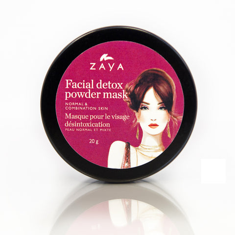 ZAYA Eco skincare| Natural face detox mask for normal and combination skin